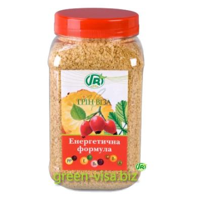 Пищевые волокна - Энергетическая формула - хлопья зародышей пшеницы с шиповником и ананасом