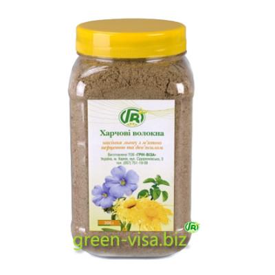 Пищевые волокна семян льна с мятой и девясилом