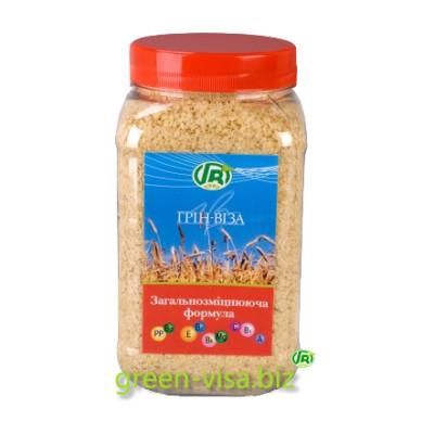 Пищевые волокна пшеницы - Хлопья зародышей пшеницы - общая укрепляющая формула