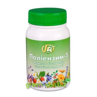 Полиэнзим - 5, формула мужского здоровья, 140г